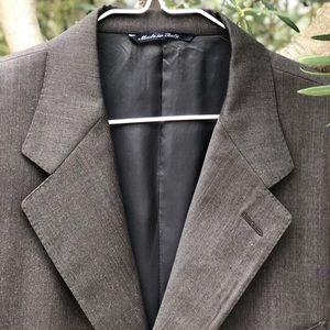 VTG CANALI Olive Green Sport Coat, Italy Made, 42R